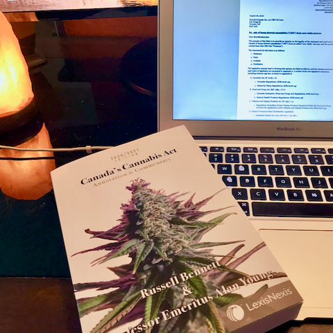 Canada's Cannabis Act: Annotation & Commentary by Russell Bennett and Alan Young