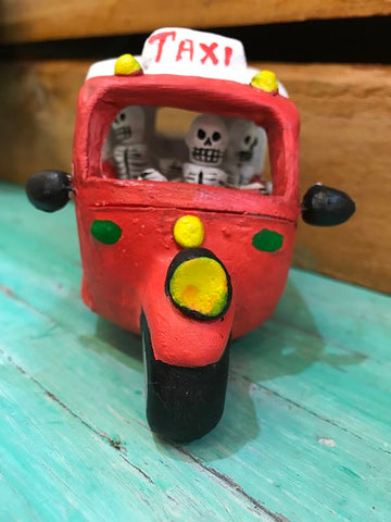 Clay Day of the Dead Taxi