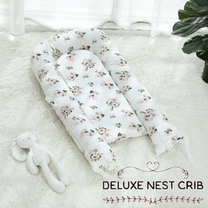 Deluxe Floral Nest Crib