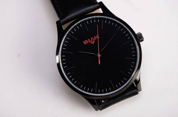 Iconic Black and Red Men's Watch
