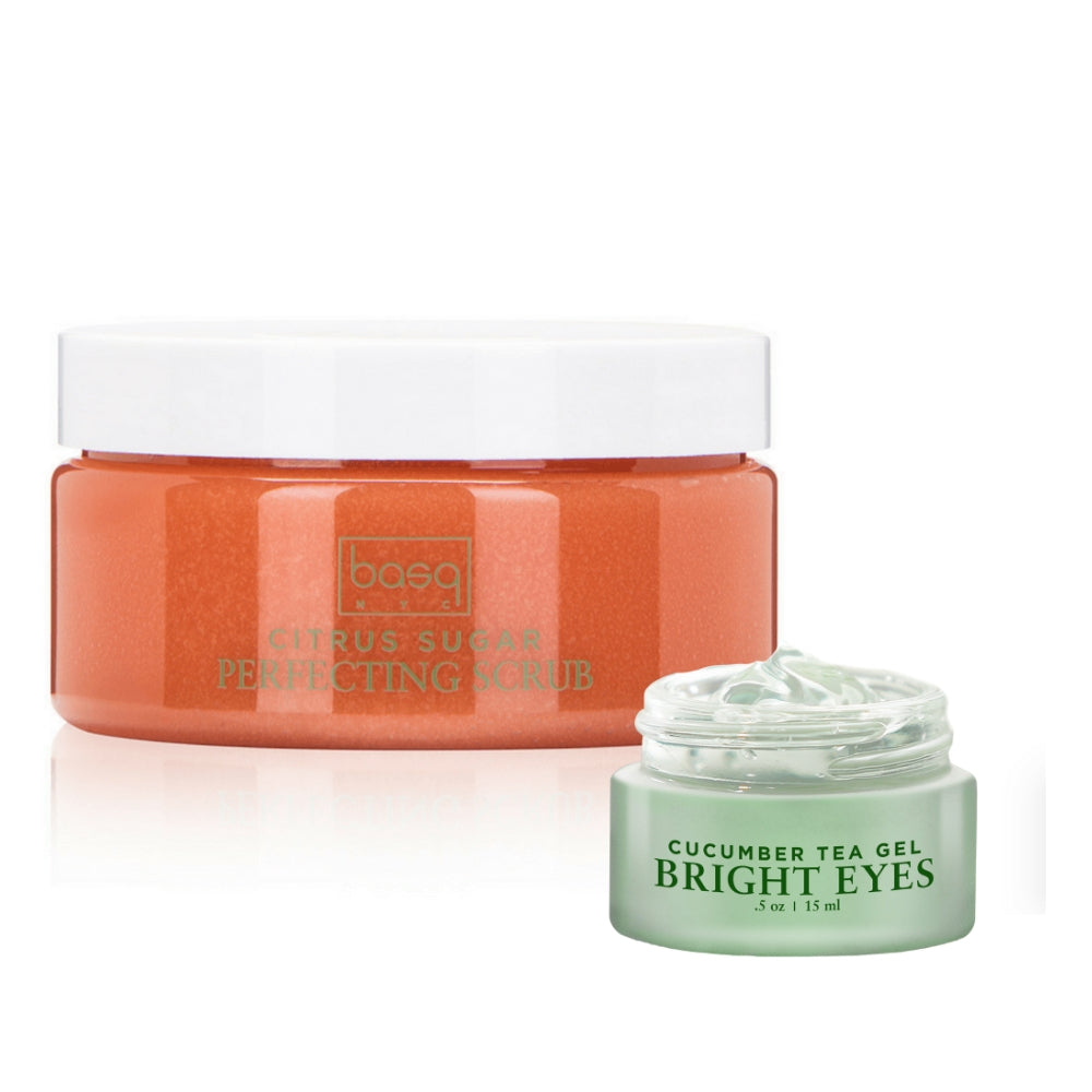 Image of Citrus Scrub and Cucumber Eye Gel
