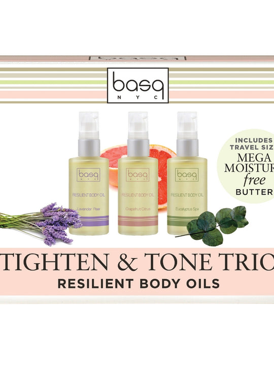 Resilient Body Oil Trio Set