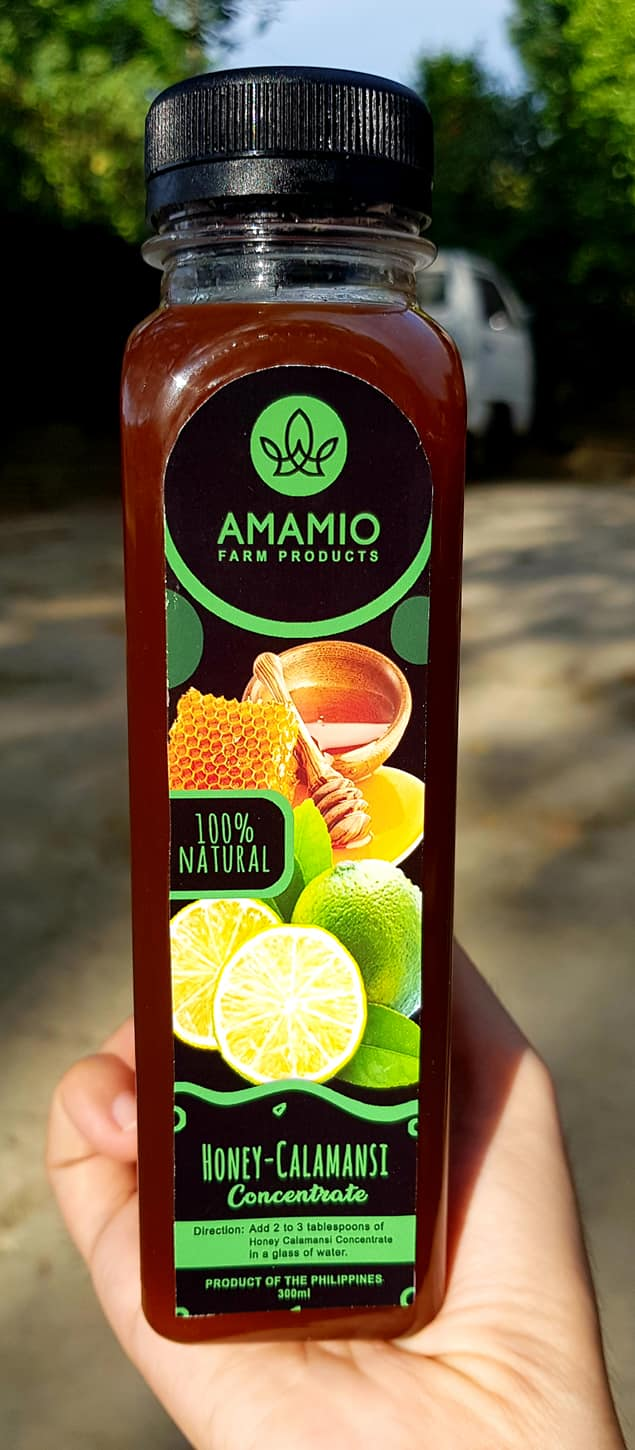 Amamio Farm Honey Calamansi Concentrate 300ml