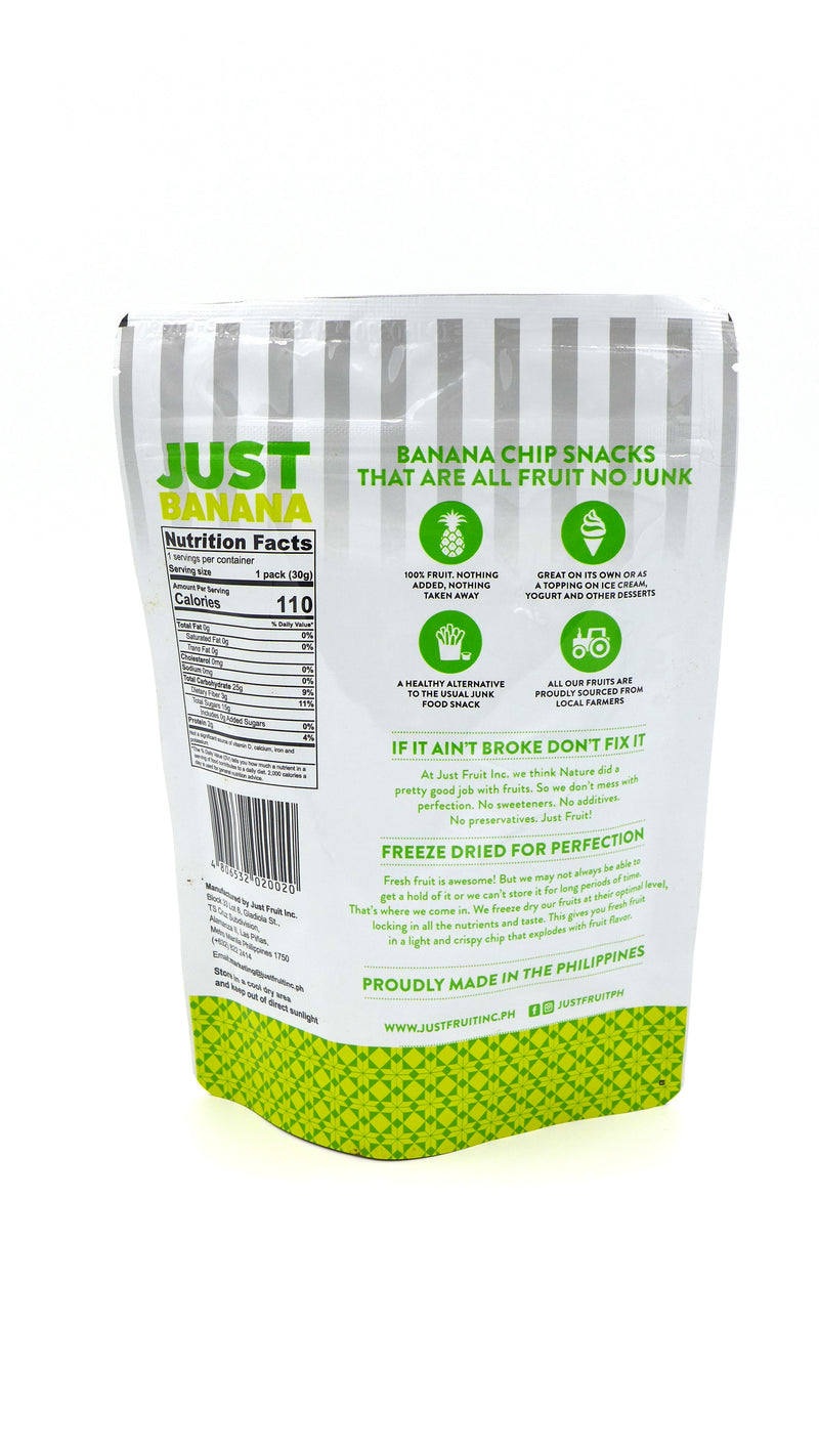Just Fruit Freeze Dried Banana 30g