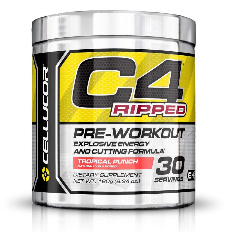 Cellucor C4 Ripped Tropical Punch 30 servings