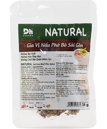 DH Foods Natural Pho Spices Sai Gon 25g