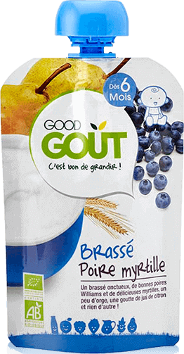 Good Gout Pear and Blueberry Yogurt 90g