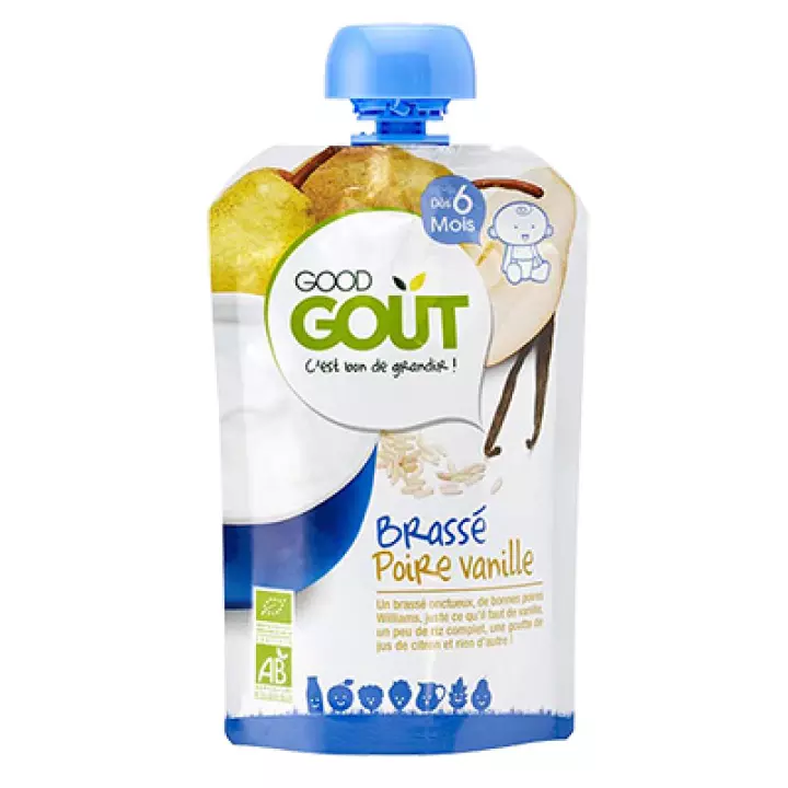 Good Gout Pear and Vanilla Yogurt 90g