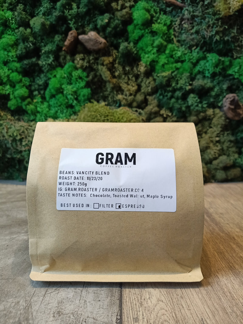 Gram Coffee Roaster Vancity Blend 250g