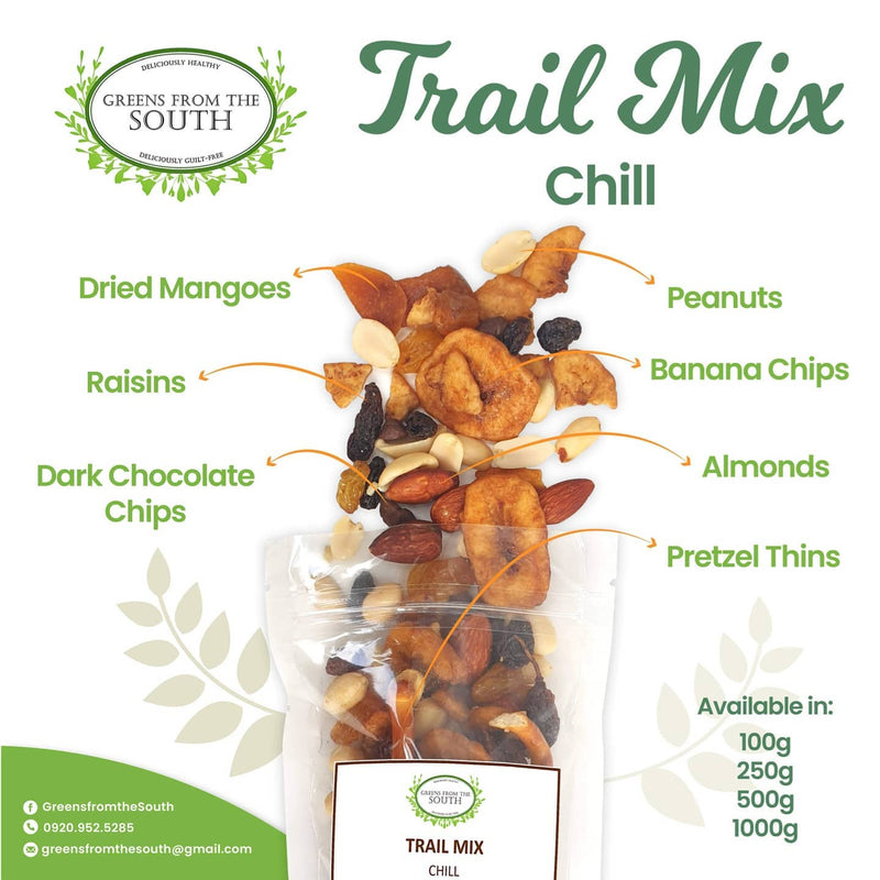 Greens from the South Trail Mix Chill 100g