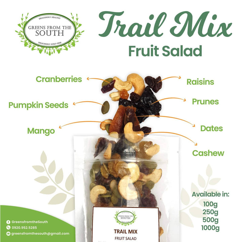 Greens from the South Trail Mix Fruit Salad 100g