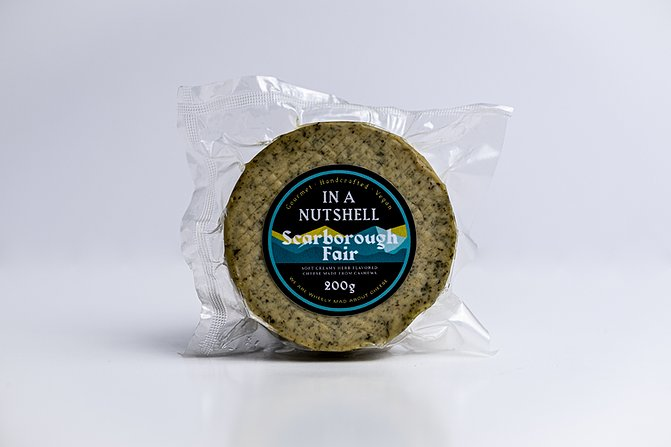 In A Nutshell Vegan Scarborough Cheese 200g