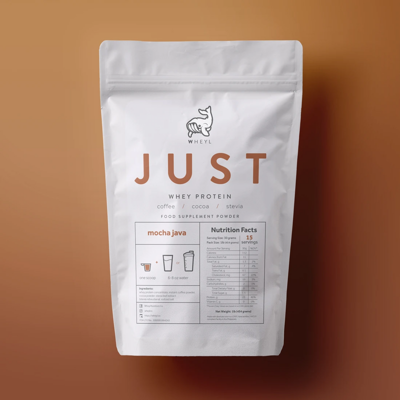 Just Whey Protein Mocha Java 1lb