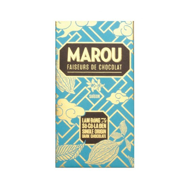 Marou Vietnamese Chocolate Lâm Đồng 74% Single Origin 80g
