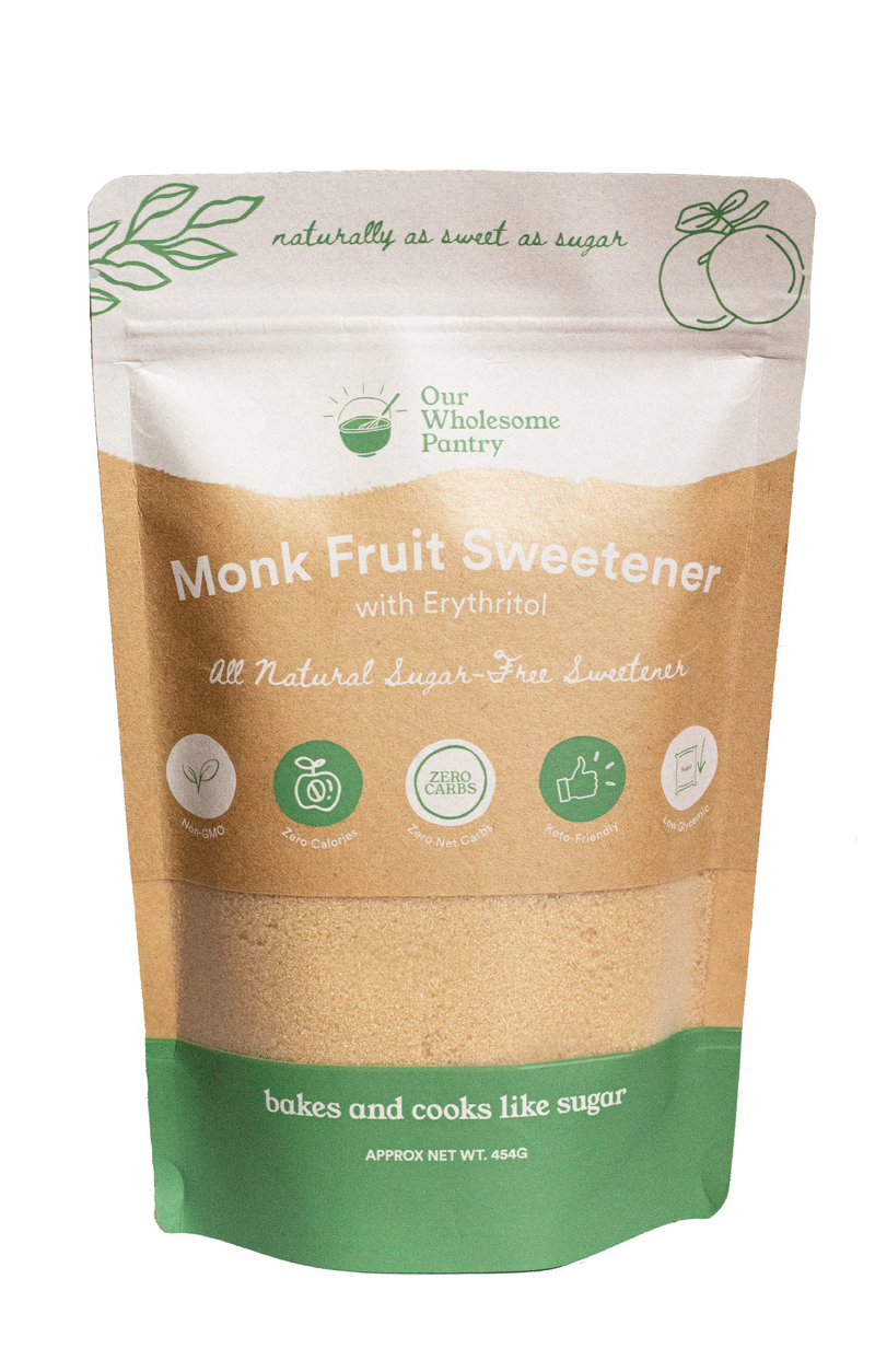 Our Wholesome Pantry Golden Monk Fruit Sweetener 454g
