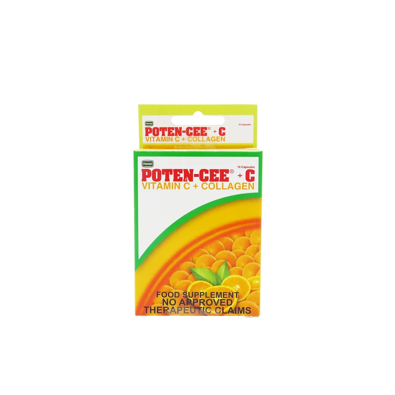 Poten-Cee + C Collagen 10's