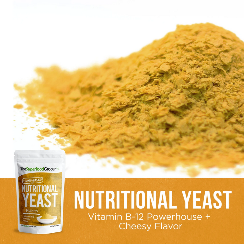 The SuperFood Nutritional Yeast 100g