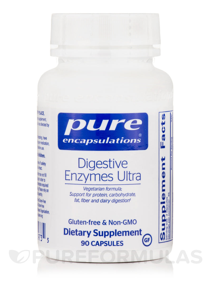 Pure Encapsulations Digestive Enzymes Ultra 90's