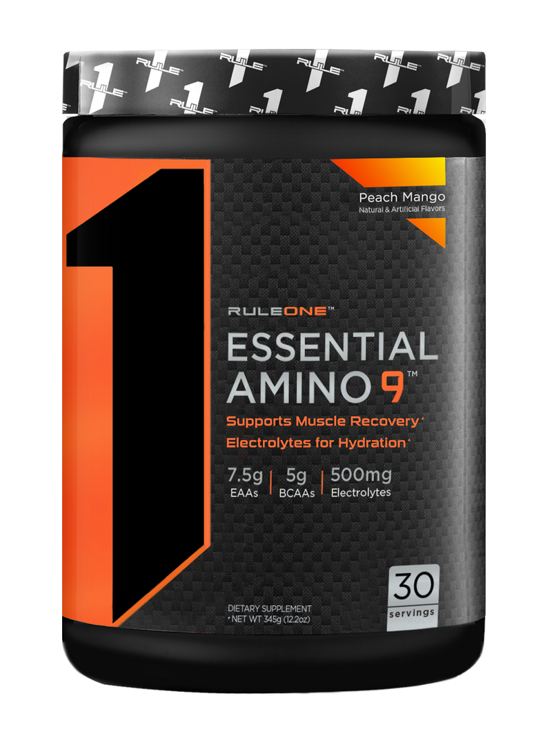 Rule 1 Essential Amino 9 Peach Mango 30 servings