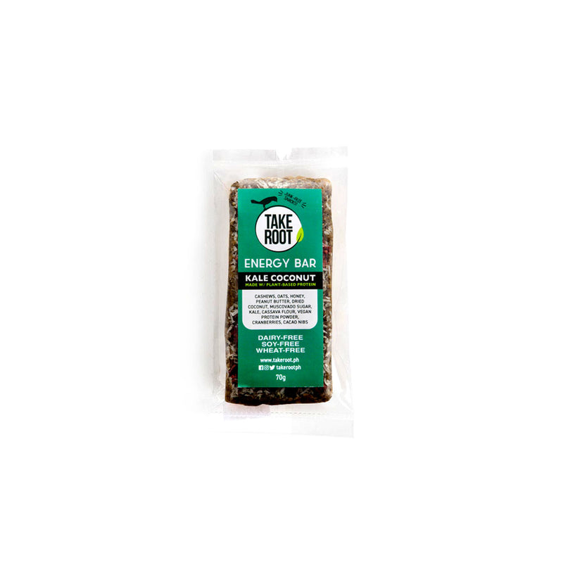 Take Root Energy Bars 70g Kale Coconut for sale | WeNourish PH