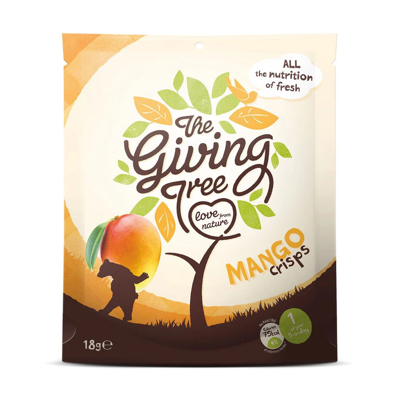 The Giving Tree Freeze Dried Mango Crisps 18g