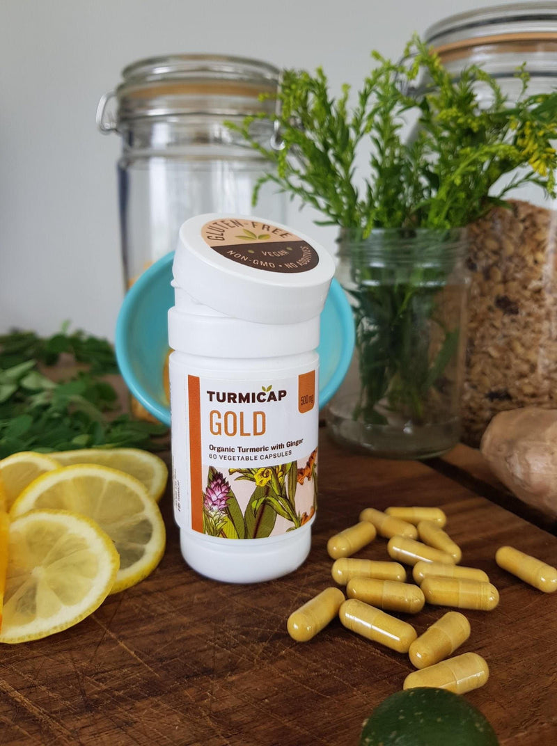 Turmicap Gold with Ginger Capsules 60's