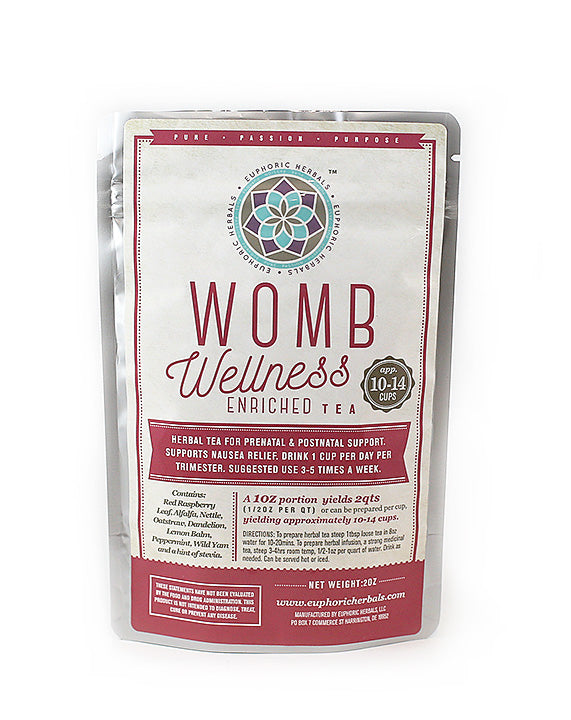 Euphoric Herbals Womb Wellness Enriched 56.70g