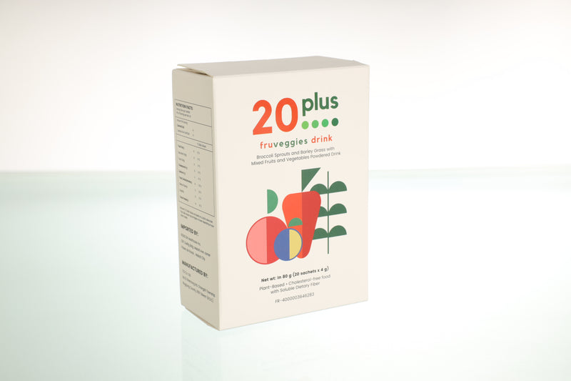 20Plus FruVeggies Drink 80g