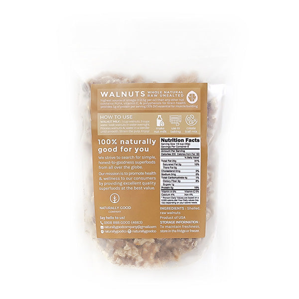Naturally Good Company Raw Walnuts 250g