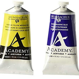 Academy Acrylic Introductory Set 90ml, 6 colors
