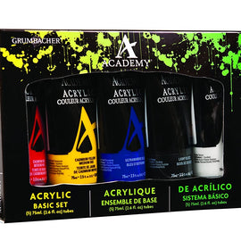 Academy Acrylic 5 Color Basic Set