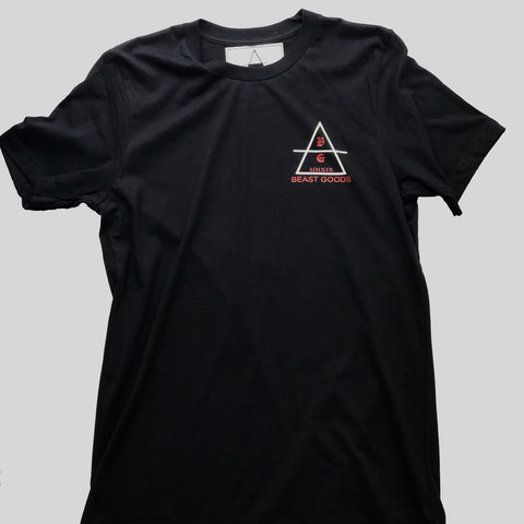 Beast Goods Logo Shirt in Black
