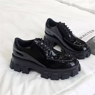 Patent leather Platform Sneakers