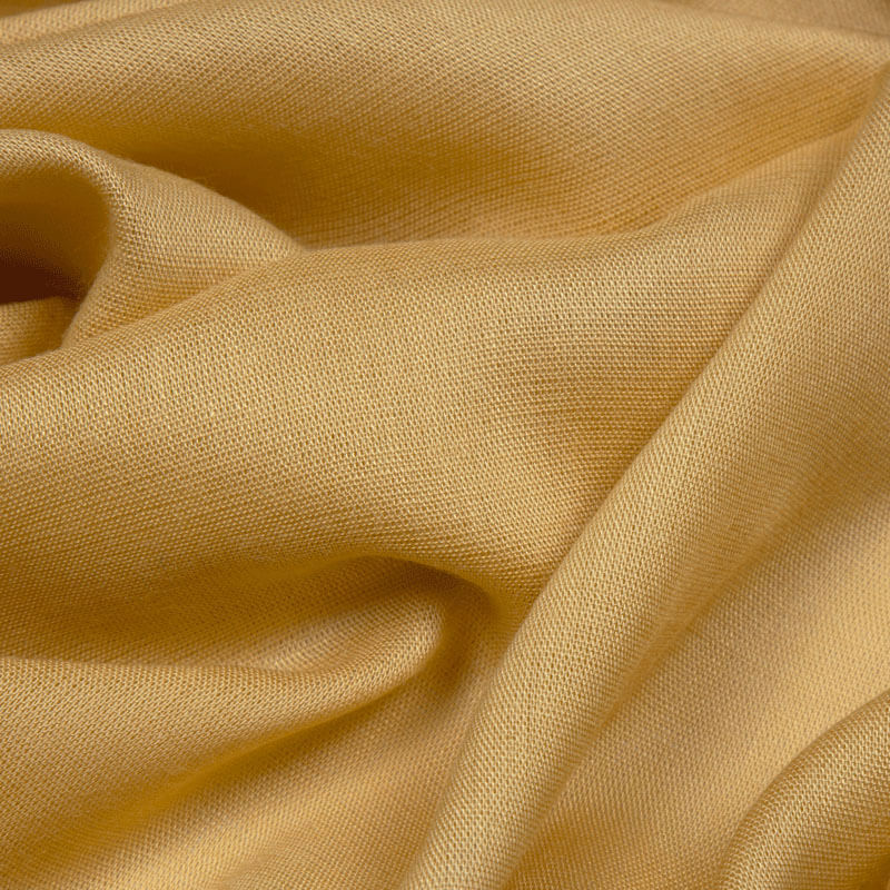 Beige Plain Viscose Rayon Fabric