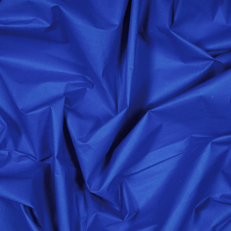 Royal Blue Plain Cotton Fabric - Fabcurate