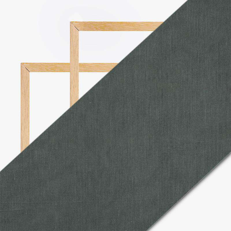 Steel Grey Plain Mul Fabric For Lining