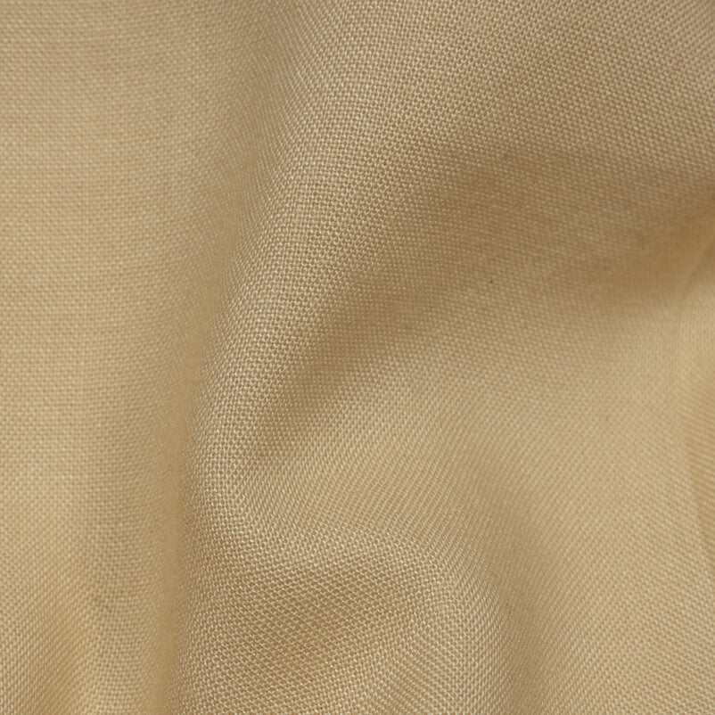 Cream Plain Rayon Fabric