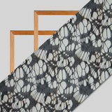 Beige Abstract Digital Print Rayon Fabric