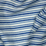 Beige Stripes Digital Print Rayon Fabric