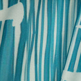 Pastel Blue Abstract Digital Print Rayon Fabric - Fabcurate