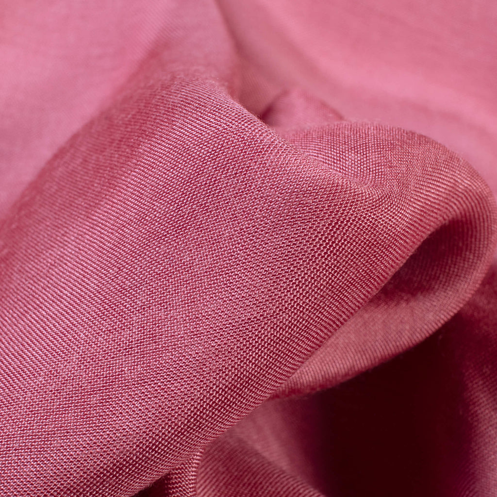Sea Pink Plain Pure Muslin Fabric - Fabcurate