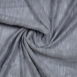 Light Grey Loom Texture Cotton Fabric