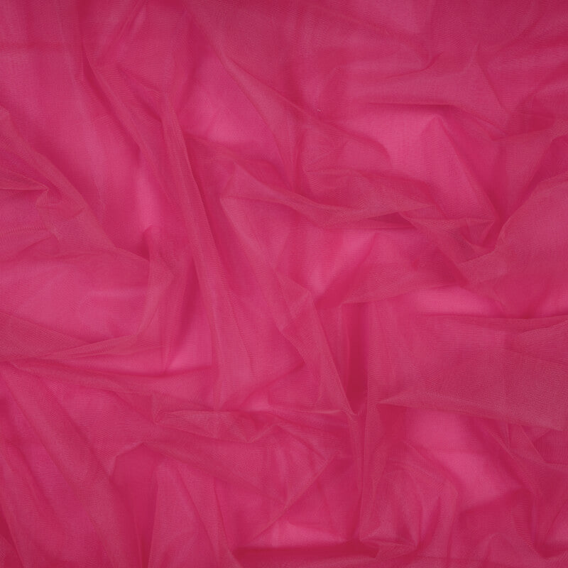Pink Plain Premium Quality Butterfly Net Fabric