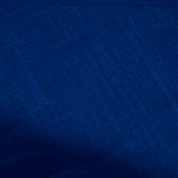 Royal Blue Plain Cotton Slub Fabric