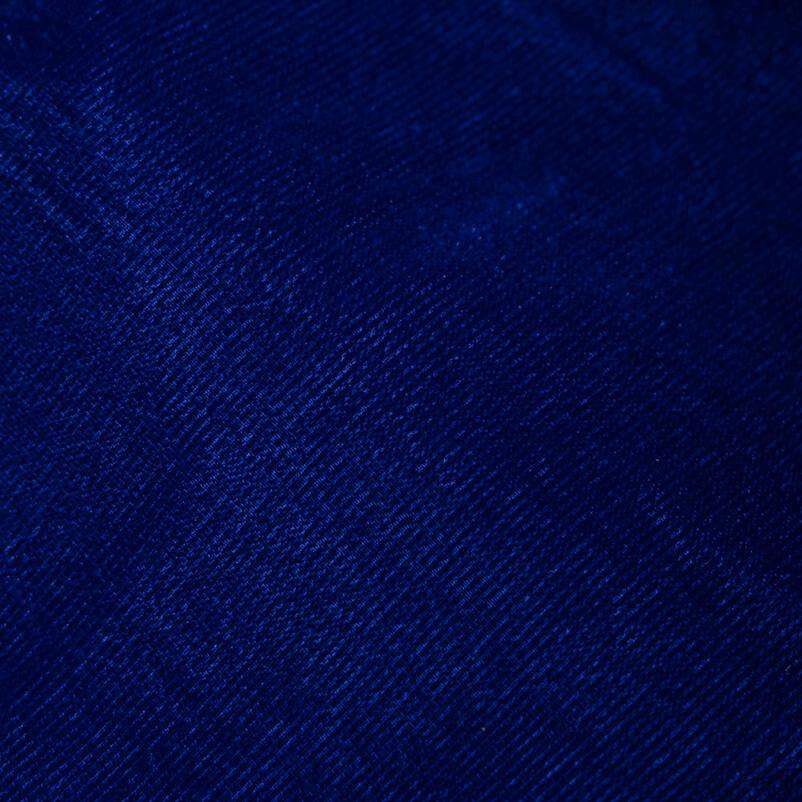 Royal Blue Plain Imported Quality Micro Velvet Fabric