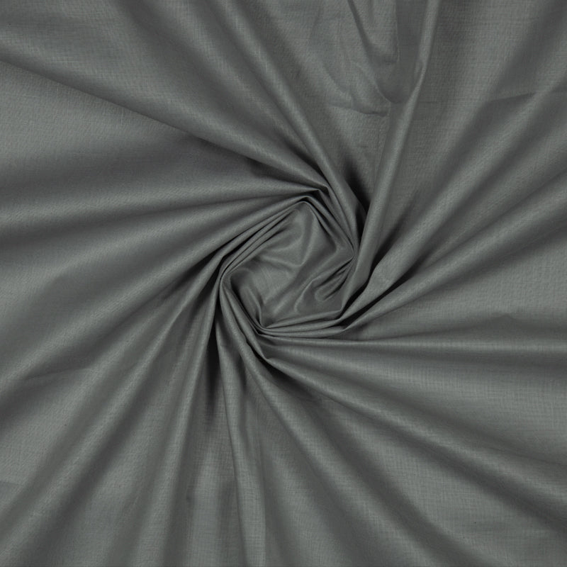 Dark Grey Plain Cotton Fabric