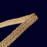 Light Gold Jari Gota Patti Embroidery Lace (9 Mtr)