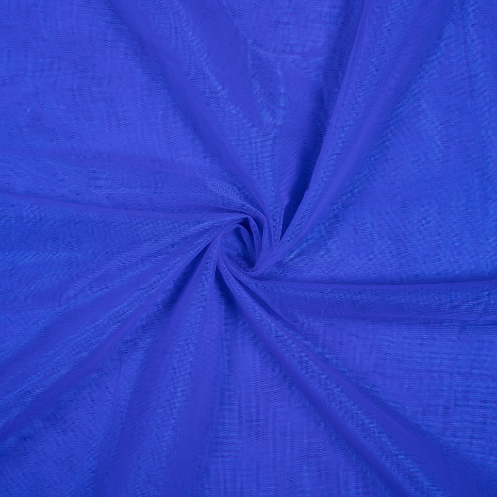 Royal Blue Plain Premium Quality Butterfly Net Fabric