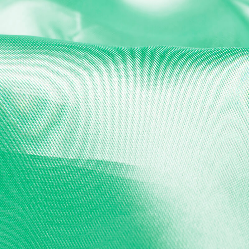 Pastel Mint Green Plain Neon Ultra Satin Fabric - Fabcurate