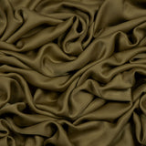 Mehendi Plain Modal Satin Fabric